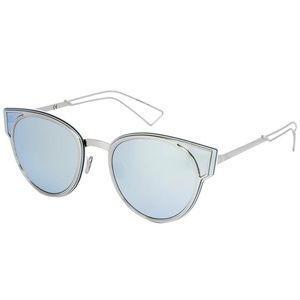 DIOR Sculpt Palladium Blue MIrrored Sunglasses